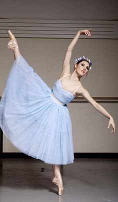 NYCB principal dancer Tiler Peck models ballet inspired fashion from D+G and Nicole Zane