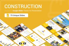 A complete set of modern and best Construction slides, Construction Google Slides Theme is designed by SlideOne team professionally to suit all disciplines in the field of modern construction, whether you are an engineer or a worker or a company...