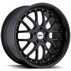 Tsw Valencia Gloss Black With Mirror Cut Lip The Wheel Can Be Ordered In Diameters Choose Your Rim Width Offset Bolt Pattern And Hub Diameter From