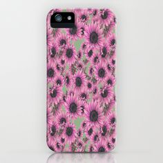 Luscious Pink Sunflower  iPhone 6 case