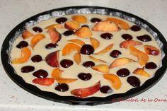 Tarta rapida cu smântânā si fructe Romanian Food, Pudding, Pie, Bread, Desserts, Torte, Tailgate Desserts, Cake, Deserts