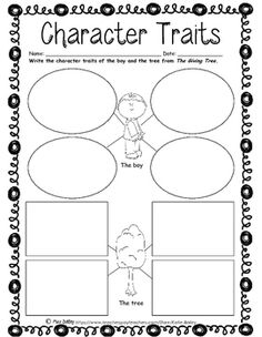 The Giving Tree Worksheet Packet!