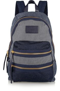 Marc by Marc Jacobs|Packrat chambray backpack