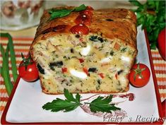 Frittata, Eat Pray Love, Romanian Food, Food Decoration, Party Snacks, Salmon Burgers, Catering, Good Food, Food And Drink