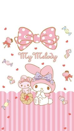 My Melody Wallpaper, Sanrio Wallpaper, Kawaii Wallpaper, Adult Coloring Book Pages, Coloring Books, Hello Kitty Images, Sanrio Characters, Rilakkuma, Pusheen