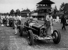 Tazio Nuvolari GP Italia Alfa Romeo Type B P3 1932