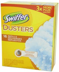 Swiffer Disposable Cleaning Dusters Refills-New Mega Size Package-80 Unscented Refills, 2015 Amazon Top Rated Cleaning Tools #HealthandBeauty