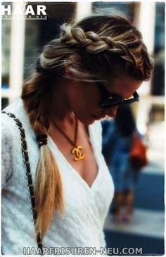 Perfect Side Braid Frisur für Herbst und Winter