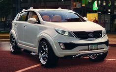 Kia Sportage 2010 heavily modded
