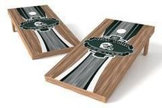 New York Jets Single Cornhole Board - Wood