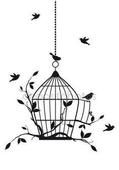 Baixar - Aves grátis, vetor — Ilustração de Stock #12426302