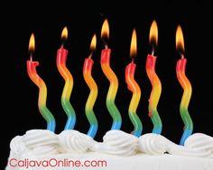 Tye-Dye Wavy Candles