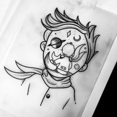 Tattoo Sketches 385198574380874555 - By Source by Space Drawings, Cool Art Drawings, Pencil Art Drawings, Art Drawings Sketches, Tattoo Sketches, Easy Drawings, Tattoo Drawings, Body Art Tattoos, Sleeve Tattoos