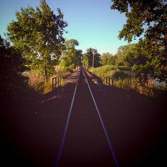 zug nach irgendwo.  #boxdorf #sommertag