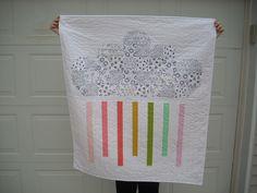 little cloud quilt + winners