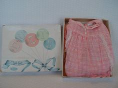 Vintage Baby Clothing Baby Girl Duets by Little by GandTVintage, $15.00