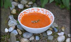 Cuketovo-rajčatová polévka s quinoou