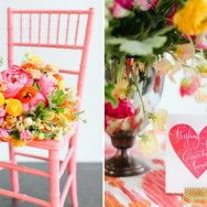 In+the+Pink+(and+Orange):+Inspiring+Color+Ideas+for+a+Bright+Wedding+Day