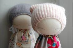 Coup de coeur pour les poupées en laine des Polonais de MUC-MUC Hand Made World