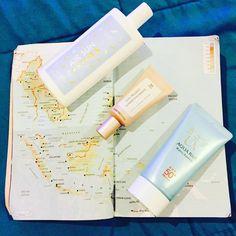 Korean Travel Skincare | Korean Sunscreen | Sensitive skin recommendations