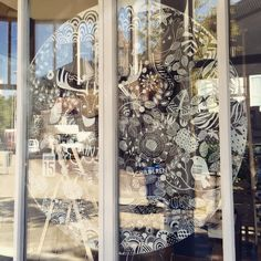 Geweldige raamtekening van een atelier in Deventer!! Gemaakt door Atelier 15