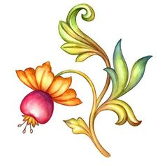 - Millions of Creative Stock Photos, Vectors, Videos and Music Files For Your Inspiration and Projects. Pencil Flower Art, Pencil Drawings Of Flowers, Watercolor Art Diy, Watercolor Art Paintings, Floral Watercolor, Illustration Blume, Watercolor Illustration, Illustration Flower, Art Floral