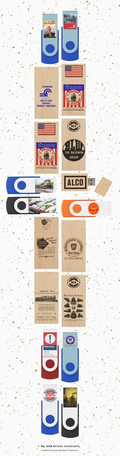 All of our USB Drives have a Railroad Theme .Transfer and store files with ease and style! Our favorite tech essential is now modern and elegant. This artfully crafted custom USB is a one of a kind accessory. Great for storing your wedding photos, loading client presentations, or for every day use, a custom wooden USB is guaranteed to leave an unforgettable impression whether you're in a library. Choose from 8GB, 16GB, 32GB, or 64GB to suit any practical USB needs. www.railphotoexpress.biz