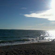 #BrackleshamBay #BlueSkies #Clouds #Sunny #Sea #Sand #Sunset #Chichester #WestSussex