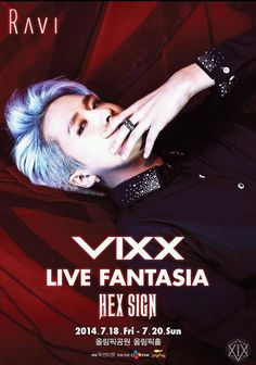 VIXX LIVE FANTASIA 'HEX SIGN' POSTER - RAVI