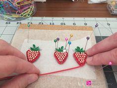QuilledPaperBerries - HowToMakeQuillingPaperStrawberries