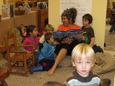 Story time is a great group activity where all children are welcome to sit and listen to stories being read. This enhances their learning on different things such as learning about numbers and colours. I will have a library set up in my room so children can go to the books without the educators and can sit and read stories and look at pictures with the other children.