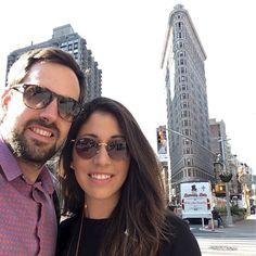 Nuestro compañero @botarrec desde Nueva York. Flatiron al fondo. Espectacular #sunoptica #gafas #sunglasses #gafasdesol #newyork #newyorker