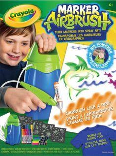 Crayola Marker Airbrush Spray Art Set 04-8727