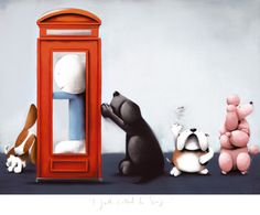 I just called to say by Doug Hyde from his new summer collection Bold, Bright & British. available at http://www.smartgallery.co.uk/artworks/doughyde003