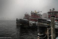 Tugboats | First Snow 2012 | Flickr - Photo Sharing!