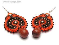 Dune 3 earrings by SoutageAnka on Etsy, zł100.00