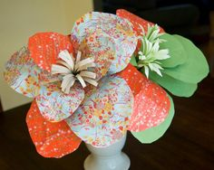 How to Make Paper Flowers-Perfect for Party Decorations | Fancy Pants Weddings