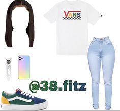 Baddie Outfits For School, Teenage Girl Outfits, Casual School Outfits, Teenager Outfits, School Girl Outfit, Teen Fashion Outfits, Casual Fall Outfits, Cute Summer Outfits, Simple Outfits