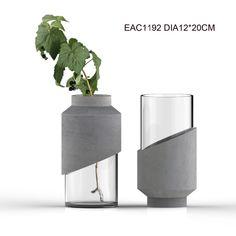 Home Decor Flower Pots Cement Art, Concrete Cement, Concrete Furniture, Concrete Crafts, Concrete Projects, Concrete Design, Diy Concrete Planters, Beton Design, Beton Diy