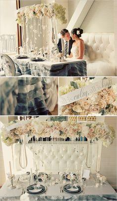 winter wedding decor