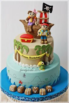 jake and the neverland pirates cakes | Jack The Pirate | Where Everything Is Made With Love