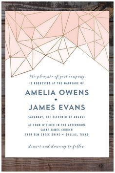 Prism Wedding Invita