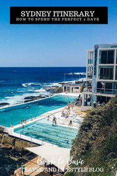 Sydney Itinerary for 2 Days Australia Travel Guide, Visit Australia, Sydney Australia, Victoria Australia, Australian Beach, New Zealand Travel, Vacation Trips, Where To Go, Travel Inspiration