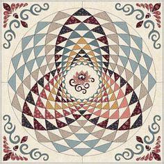 Serendipity: Моя любовь - Electric Quilt.