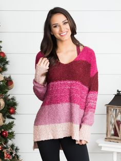 6b5bbd6bcdec No Secrets Stripe Button-Down - Black. Eleven Oaks BoutiqueWrap SweaterLace  ...