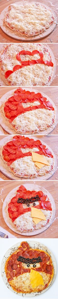 Angry Bird Pizza | Recipe By Photo