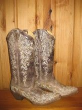 Corral Boots Brown Crater Bone A1094