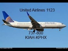 United Airlines Full Flight: Houston to Phoenix