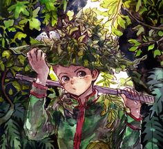 Gon 00 by b-snippet on deviantArt | Gon Freeccs | Hunter X Hunter