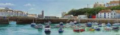 Window on Porthleven, Alice Hole- Paintings, Alice Hole, SAA Professional Members' Galleries